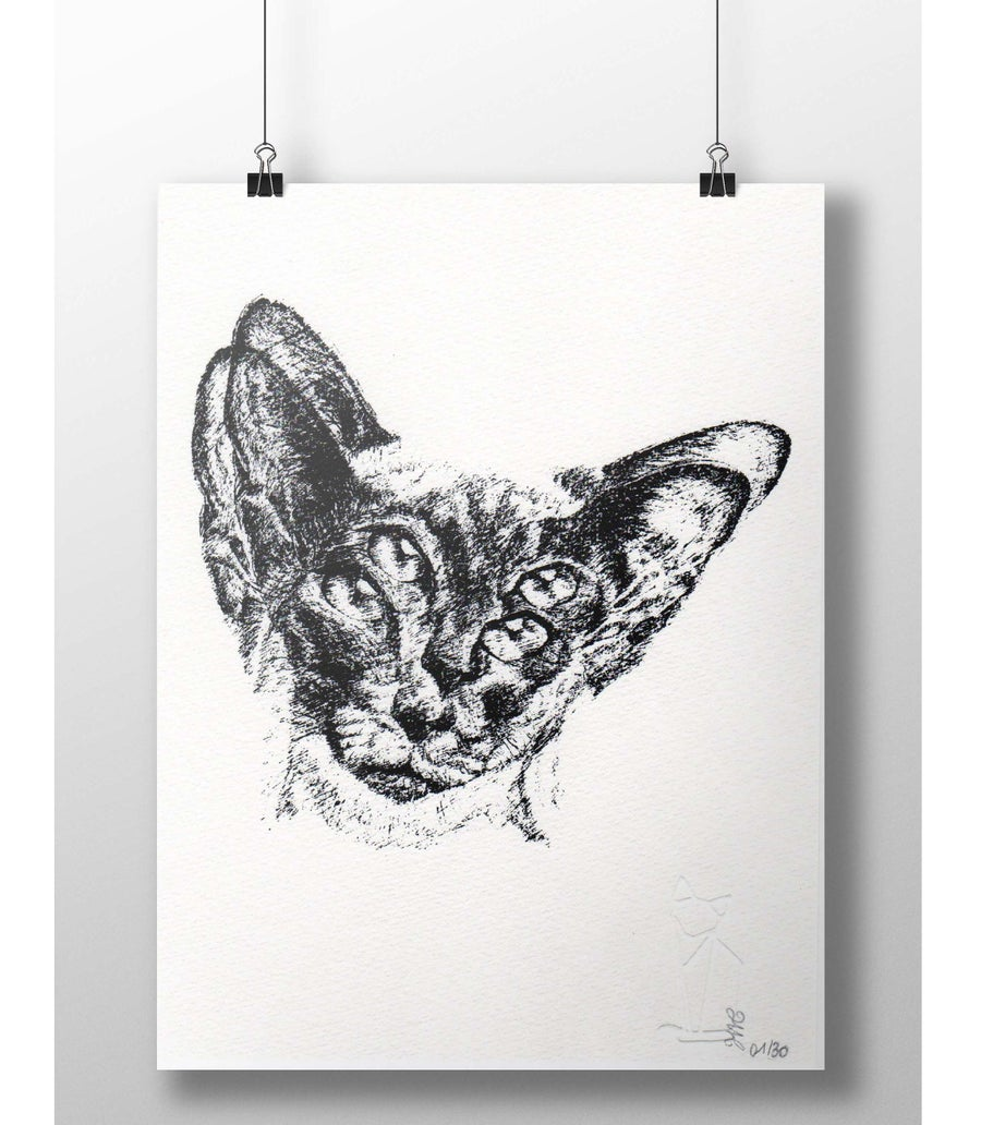 "Image of ""Copycat"" art print"