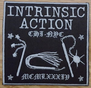 "Image of Intrinsic Action ""1984"" Embroidered Patch"