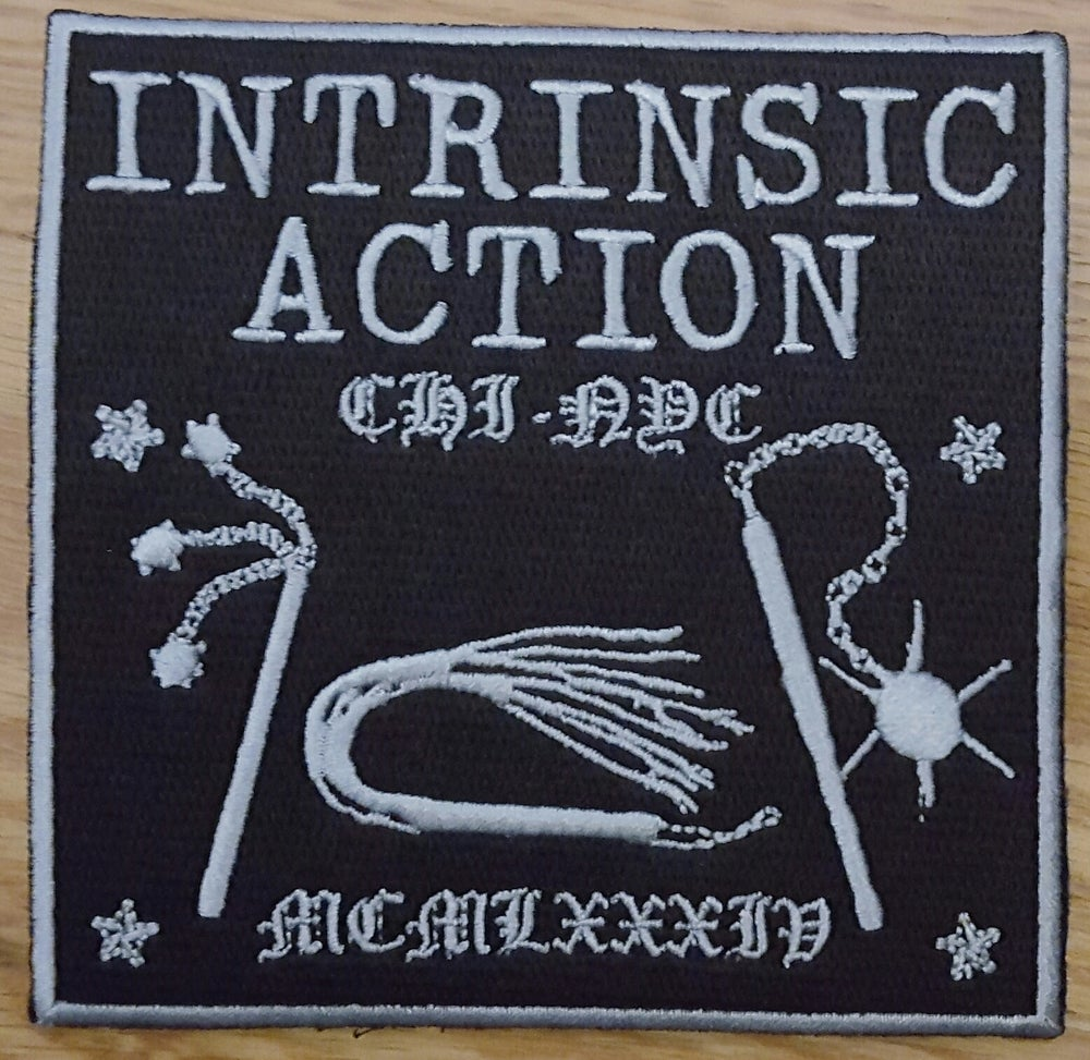 "Intrinsic Action ""1984"" Embroidered Patch"