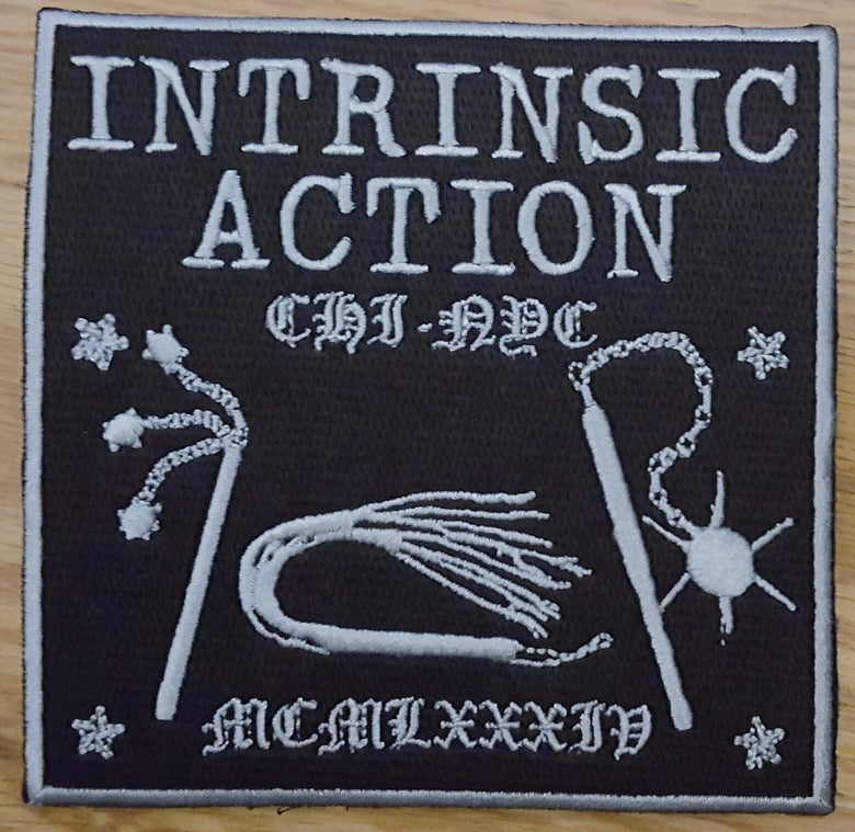 """Image of Intrinsic Action """"1984"""" Embroidered Patch"""
