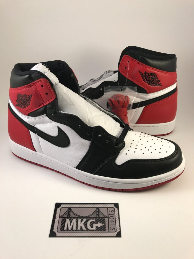 huge discount 46338 1dae6 Image of Air Jordan 1 Retro High OG  Black Toe