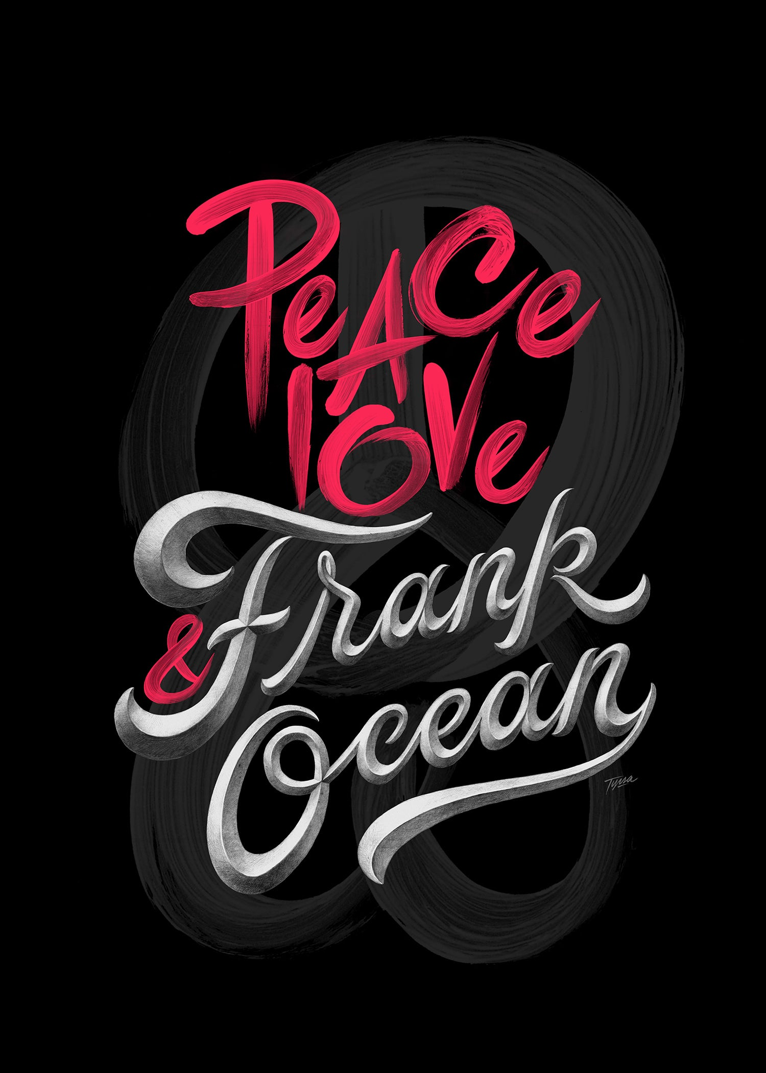 Image of PEACE, LOVE & FRANK