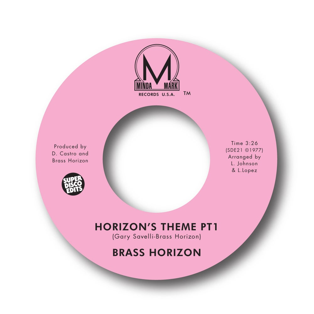 "Image of BRASS HORIZON ""HORIZONS THEME PT1&2"" MINDA MARK"