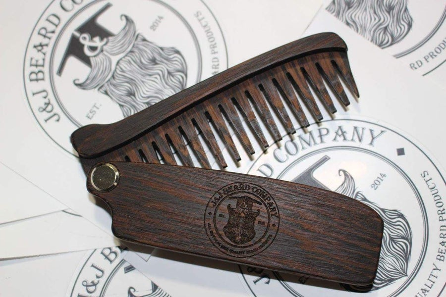 Image of Folding Wooden Comb