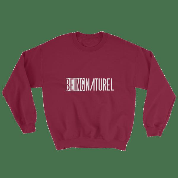 Image of Maroon Being Naturel Classic Sweatshirt