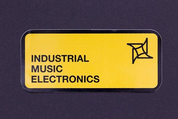Image of IME logo sticker