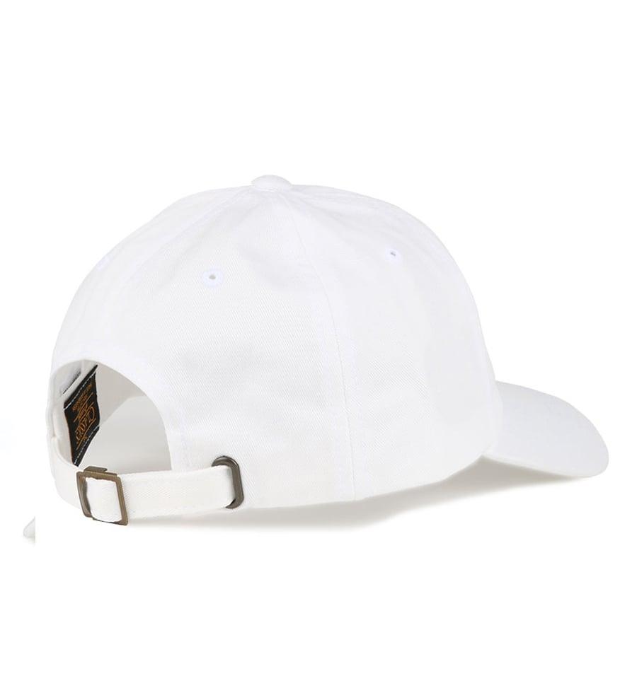 Image of LOGO BUCKLE CAP (SNOW)