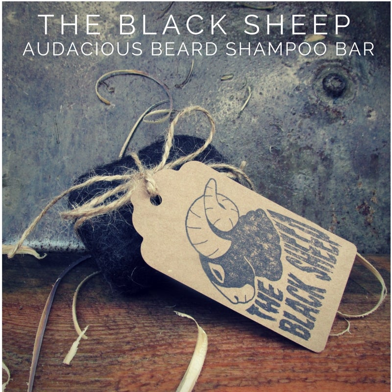 Image of The Black Sheep - Beard Shampoo Bar