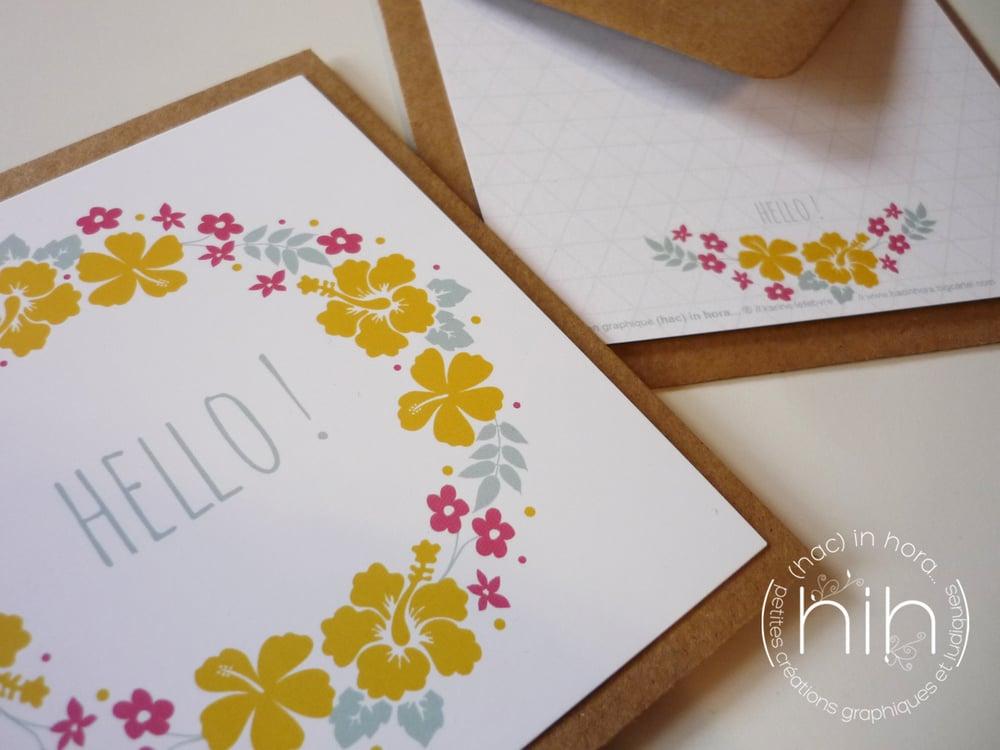 Image of cartes 🙐folia🙖 'hello!'
