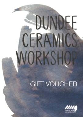 Image of Dundee Ceramics Workshop Gift Voucher