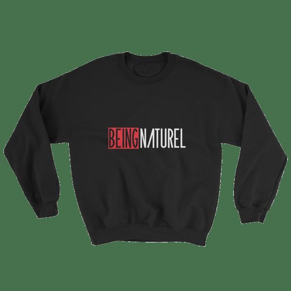 Image of Being Naturel Unisex Classic Sweatshirt Black