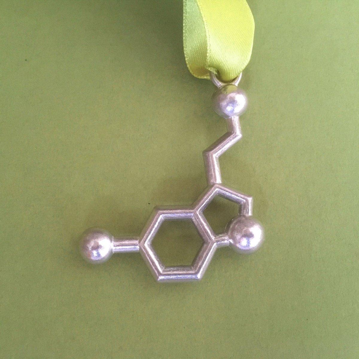 Image of serotonin ornament