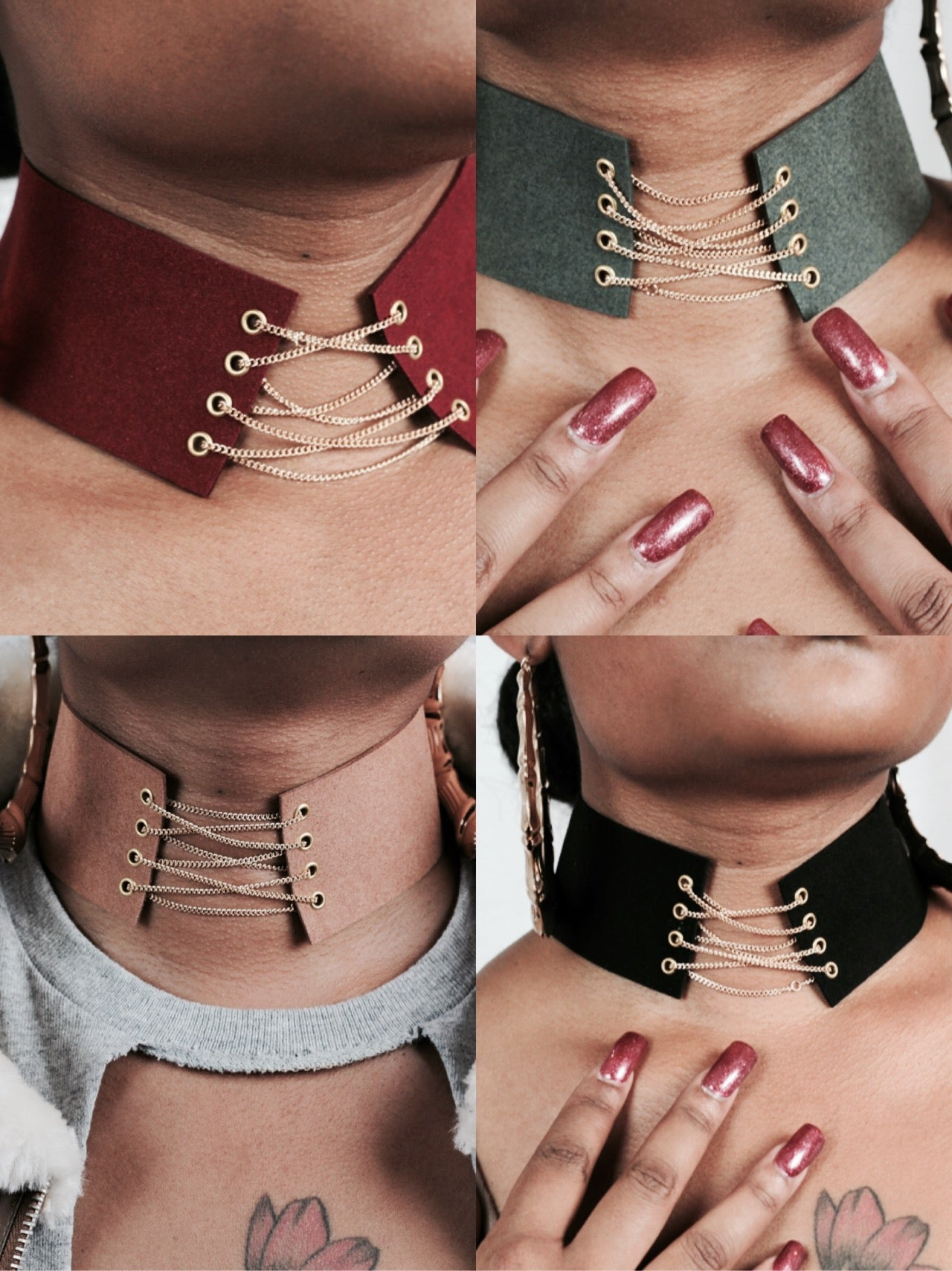 Image of Chained Choker