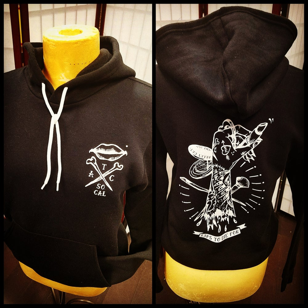 Image of Lips to Die For Hoodie