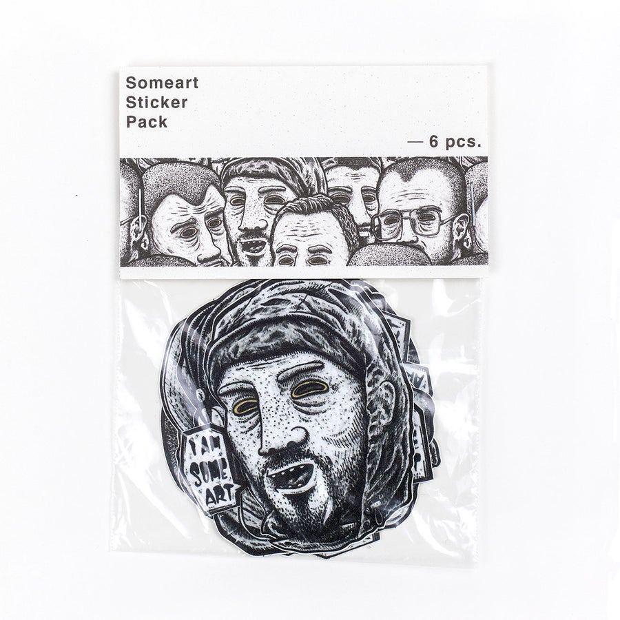 Image of Friendly Faces 4.0 - Sticker Pack