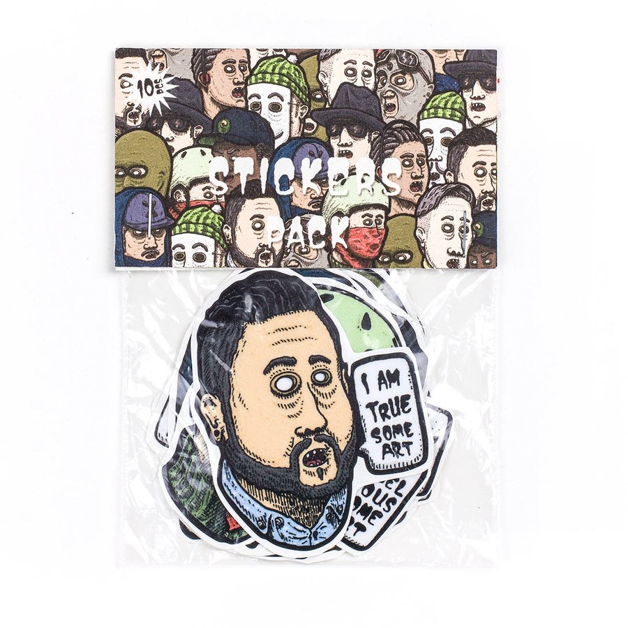 Image of Friendly Faces 3.0 - Sticker Pack