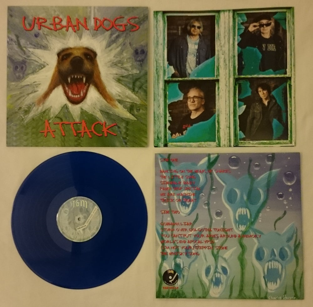 T&M 026 LP - Urban Dogs - ATTACK - Vinyl LP