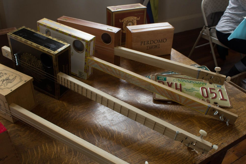 Image of Custom Cigar Box Guitar (SOLD OUT)