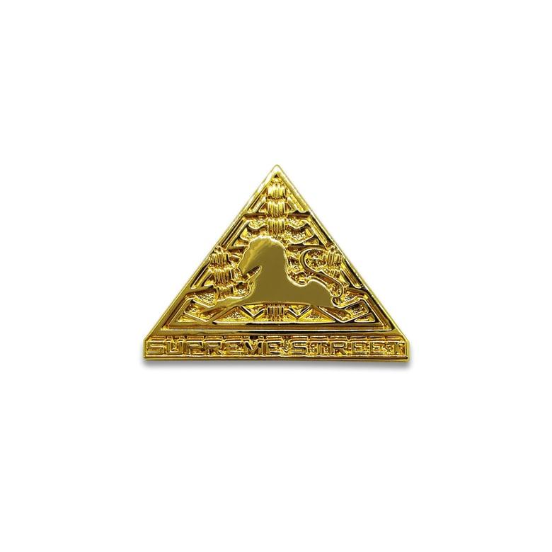 Image of Supreme Street Gold Pin