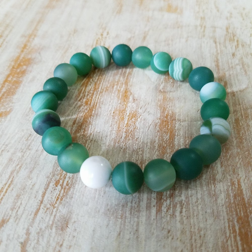 Image of GREEN TEAM BRACELET