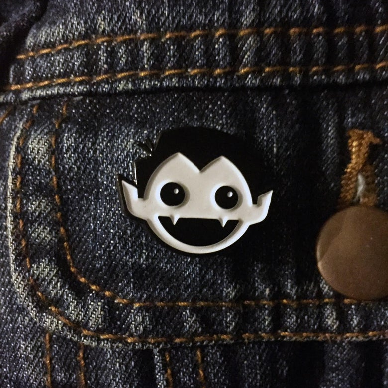 Image of DRACULAD Glow in the Dark Enamel Pin