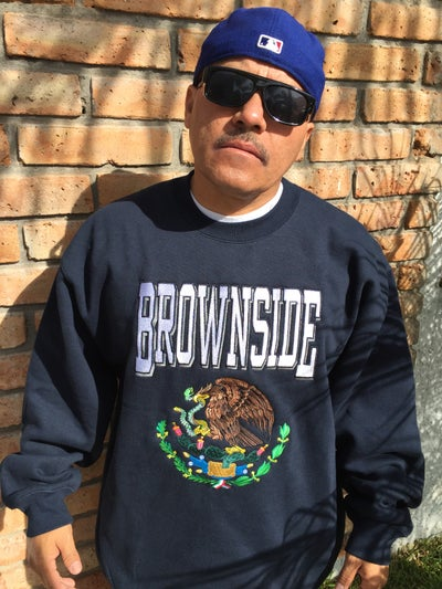 Image of Brownside Eagle Logo Crewneck