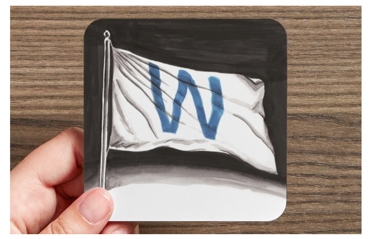 Image of Fly the W Flag Coaster