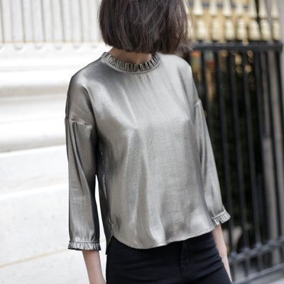 Blouse Claude Lurex - Maison Brunet Paris
