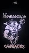 Image of THE DOMESTICS 'EAST ANGLIAN JAWBREAKERS' T SHIRT (w/ backprint).