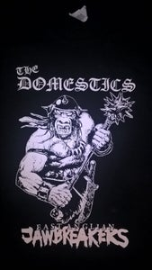 Image of THE DOMESTICS 'EAST ANGLIAN JAWBREAKERS' T SHIRT (w/ backprint).