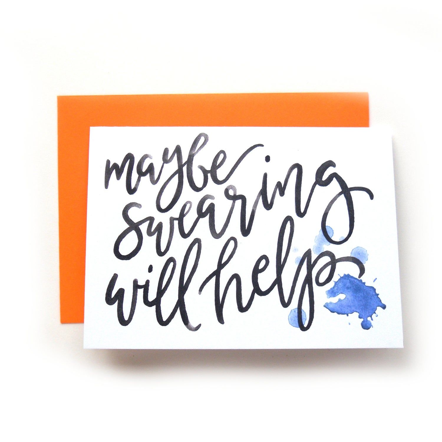 Image of Maybe Swearing Will Help Card