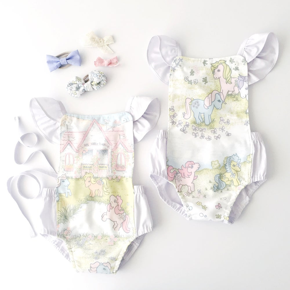 Image of VINTAGE My Little Pony Romper