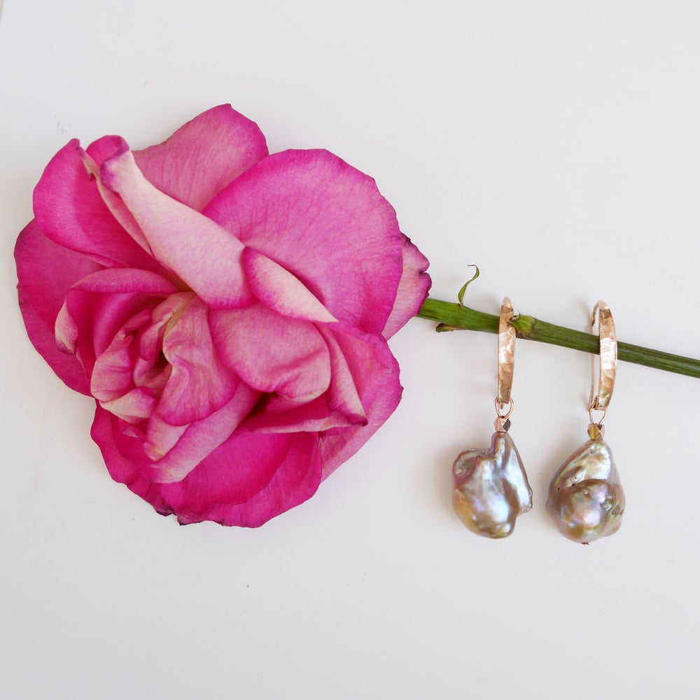 Image of Gaia Orchid Earrings