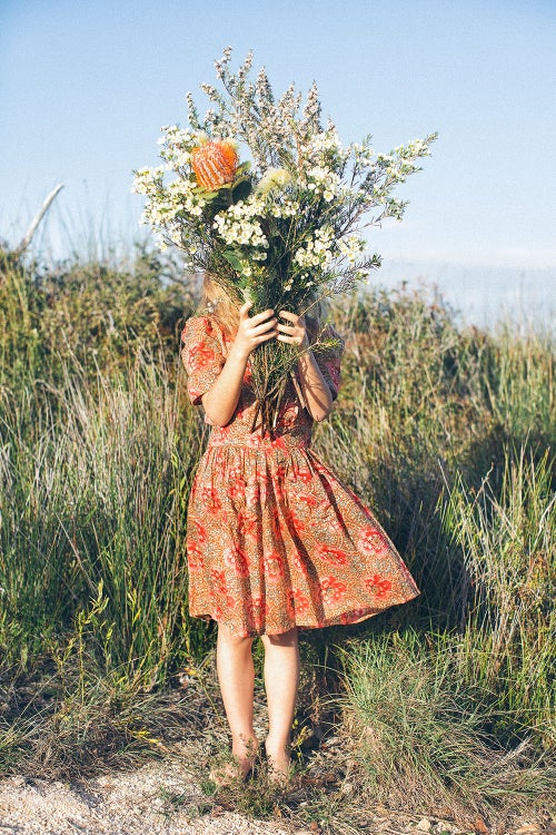 Image of Riga Dress - Vintage Rose