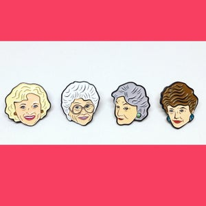 Image of The Golden Girls Pin Pack, 3rd Edition!