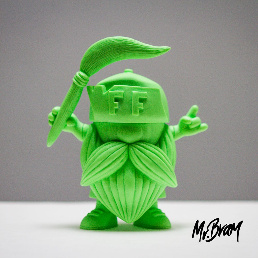 Image of Limited Release Blank Beardo Figure by Mr.Bram