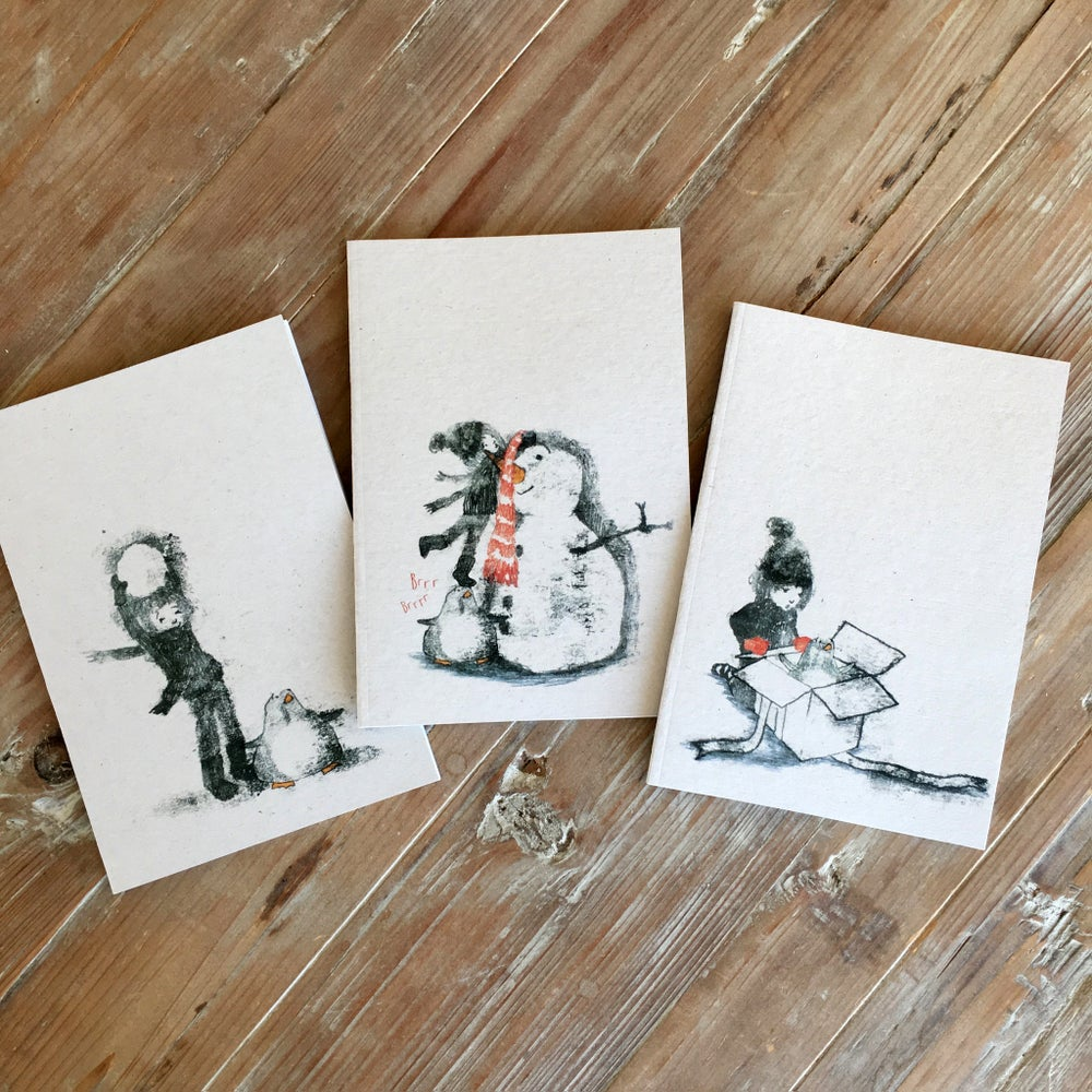 Image of Katie and Penguin Notebooks