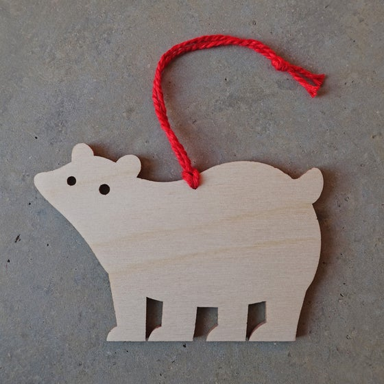 Image of Polar Bear Bauble