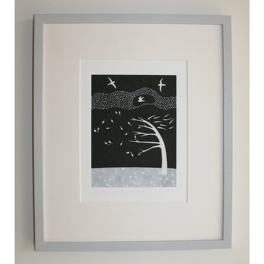 Image of Do Not Stand Print