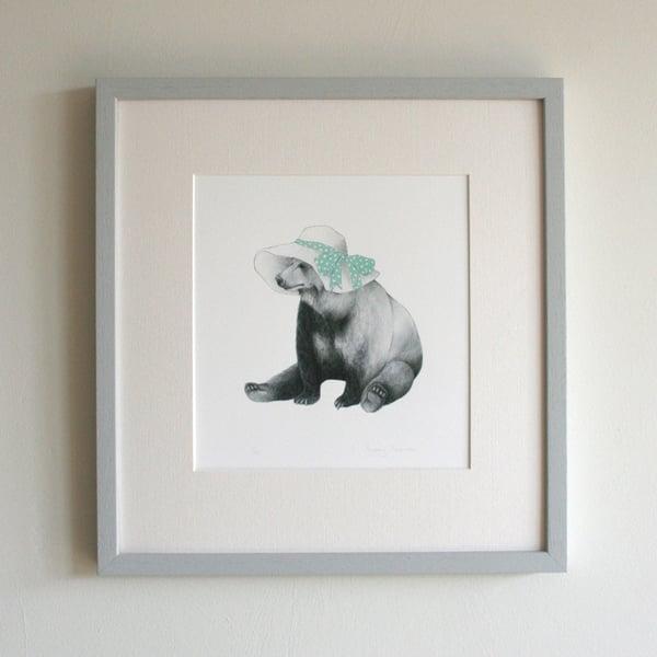 Image of Summer Bear Print