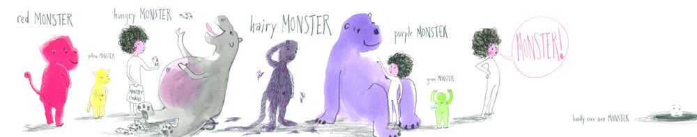 Image of Monsters Print