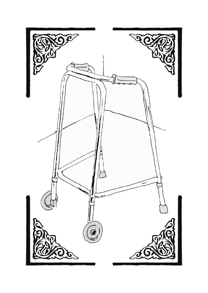Image of ROLLING WALKER