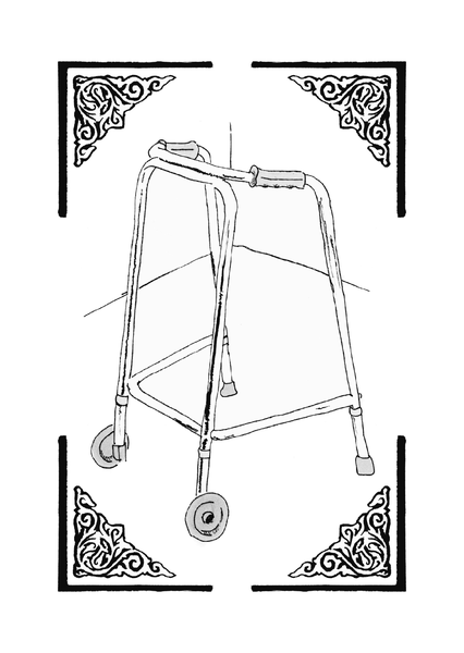 Image of ROLLING WALKER