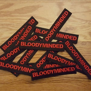 Image of BLOODYMINDED Embroidered Patch