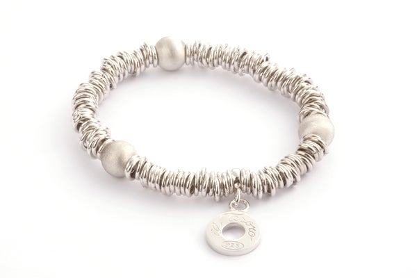 Image of Armband Milano Rhodium