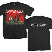 "Image of CARNIVORE ""Retaliation"" Red Sky T-Shirt"