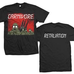 "Image of CARNIVORE ""Retaliation"" Red Sky T-Shirt"