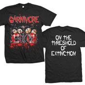 "Image of CARNIVORE ""On The Threshold Of Extinction"" T-Shirt"