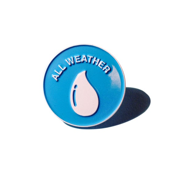 Image of ALL WEATHER PIN BADGE
