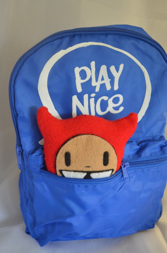 Image of Play Nice Backpack & Plush